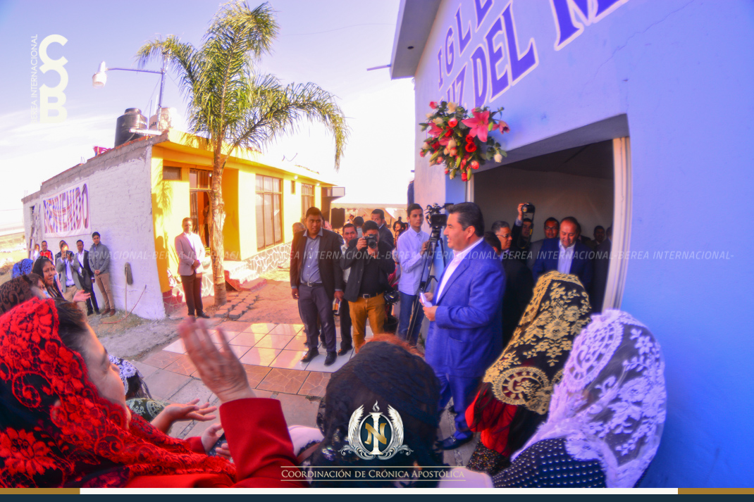 Apóstol Naasón Joaquín visita Salamanca, Guanajuato. Abril 10, 2017