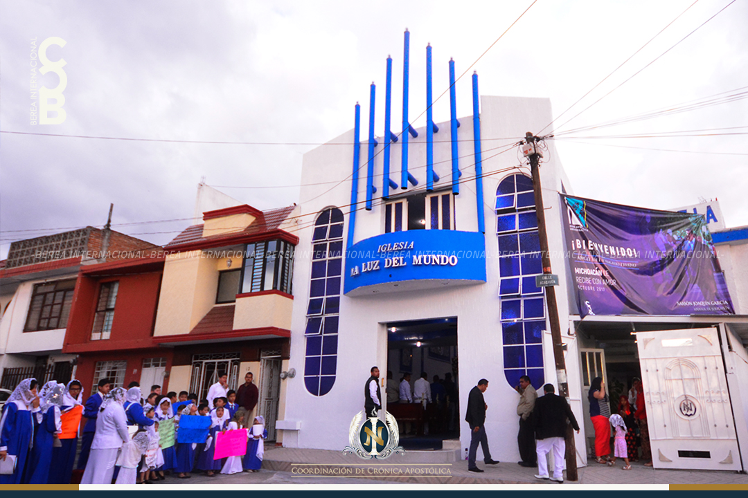 Iglesia La Luz del Mundo en colonia Lomas de Guayangareo Michoacan Mexico LLDM 1