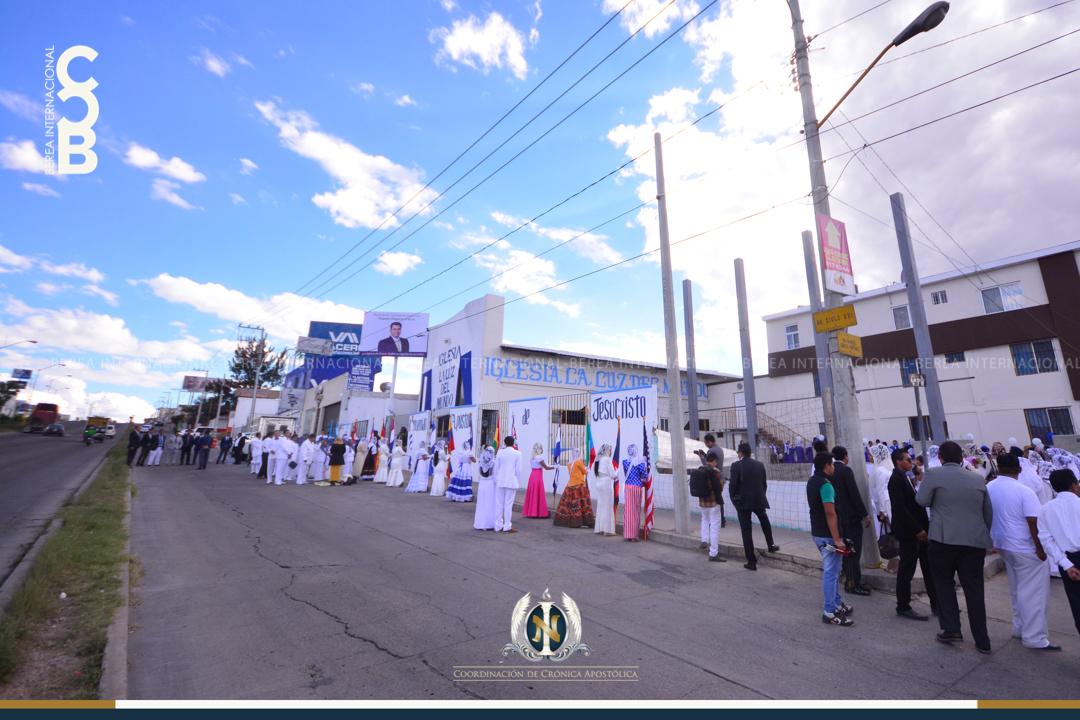 Iglesia La Luz del Mundo en la colonia Nazario Ortiz en Aguascalientes México 1
